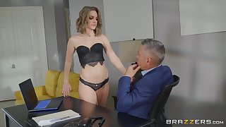 The office is the best place for having good sex for horny Kimmy Granger