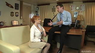 Tarra White gets fucked by distinct friend's penis while she moans