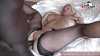 german milf anal copulation with heavy black cock